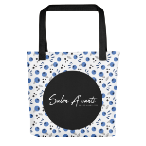 SalonAvanti-BlueberryToteBag-PRINTREADY-101220_mockup_Front_15x15_Black