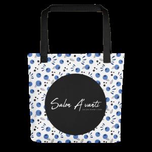 SalonAvanti-BlueberryToteBag-PRINTREADY-101220_mockup_Front_15x15_Black